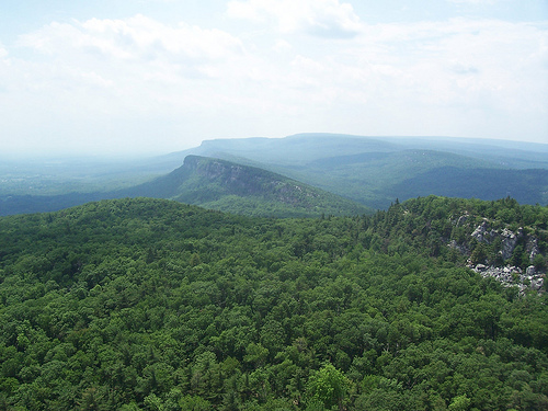 mohonk mountain view new paltz new york