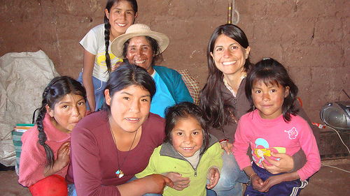 annmarie gianni q'ero children peru
