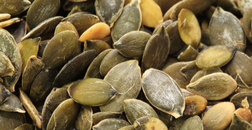 pumpkin seeds high in zinc