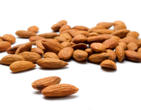 raw unpasteurized almonds