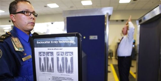x-ray scanner airport