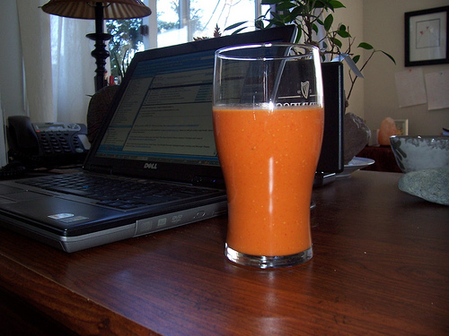 carrot juice cancer diet