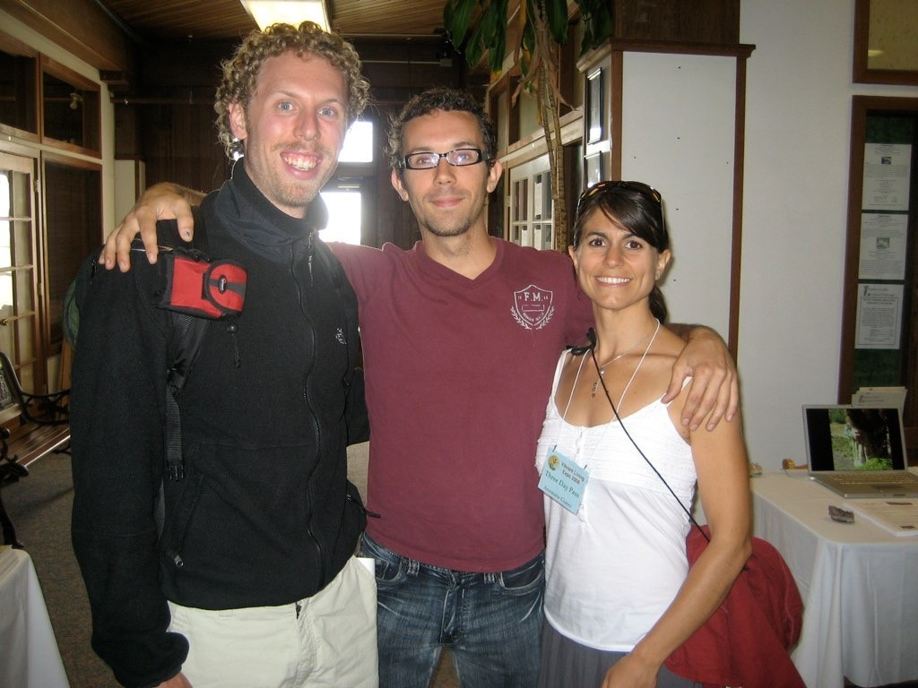 Fred with Kevin and Annmarie Gianni