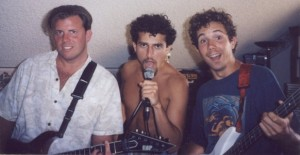 Frederic at 21 with David Wolfe and Stephen Arlin