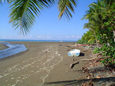 The endless empty beaches of Costa Rica